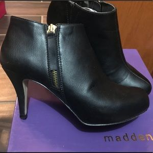 Madden Girl Ankle Boots with Platform Heel